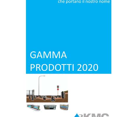 Gamma prodotti KMC 2020