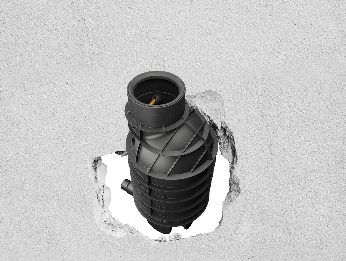 KMC polietilene contro cemento